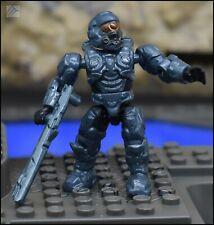 HALO MEGA BLOKS UNSC BLUE STEEL SPARTAN OPERATOR FIGURE 97129 PELICAN GUNSHIP