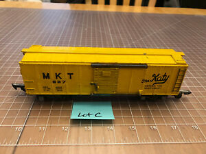 American Flyer S Train MKT 637 The Katy Box Car 1949-1953 w/LInk Couplers Lot C