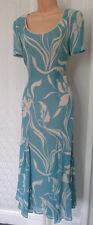 Jacques Vert bastante Señoras Cóctel Fiesta Boda Largo Vestido Talla Reino Unido 12, EU 38