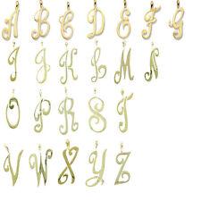 Neues Angebot9ct Gelbgold Initialen Anhänger Gekennzeichnet