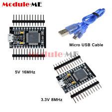 Pro Micro Atmega32u4 816mhz Usb Controller Board 33v5v Bootloader For Arduino