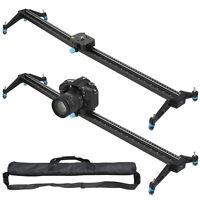 """32""""Pro  DSLR Camera Slider Dolly Track Video Stabilizer Camcorder Stabilization"""
