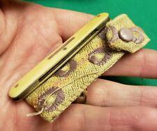 Rare  Antique Sheffield England Combo Pen Pocket Knife Knives W Match Striker