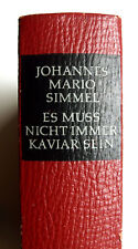Johannes Mario Simmel - Es muß nicht immer Kaviar sein    - 1964