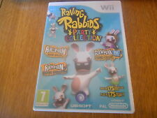 Raving Rabbids Party Collection (Lapins crétins) Jeu WII PAL Complet