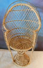 Natural Cane woven Doll Chair