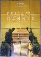 Affiche 69ème FESTIVAL DE CANNES 2016 Le Mépris Jean-Luc Godard 120x160cm *
