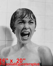 """Hitchcock~Janet Leigh~Poster~Shower Scene~Psycho~Photo~ 16"""" x  20"""""""