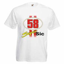 T-shirt SIC maglietta simoncelli unisex cotone moda idea regalo  S-XL
