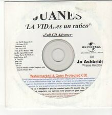 (DN367) Juanes, La Vida ... es un ratico - 14 track unopened DJ CD