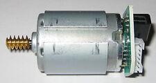 Johnson HC385MG Motor with Brass Worm Gear / Optical Encoder - 18 V - Dual Shaft