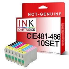 60 non-oem cartouches d'encre remplacer pour RX500 RX600 RX620 RX640 R200 R220 R300 R320