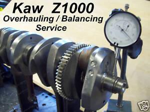 Kawasaki z900 Z1000 GPZ1100 Crankshaft Recon GS1000 EFE Katana ZXR Z900 GSXR