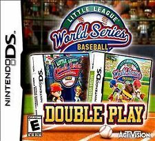 NEW! Little League World Series Baseball: Double Play (2 games in 1) Nintendo DS