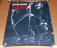Bryan Adams Waking Up the Neighbors Poster Original 1991 Promo 30x24