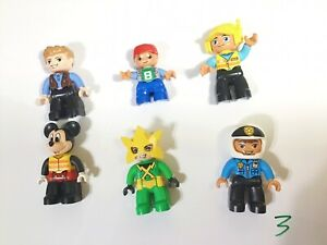 6xNew Lego Duplo Mini Figures No 3