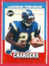 2001 UPPER DECK VINTAGE (FB) LaDainian Tomlinson ROOKIE/RC CARD #252 HOF'er