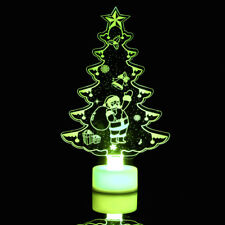 Changing Color Christmas Tree LED Night Light Decorative Wall Lamp Home Decor