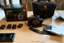 SonyAlphaA7 II 24.3 MP Digital Camera-Black(Body Only)-GoodCondition-Bundle