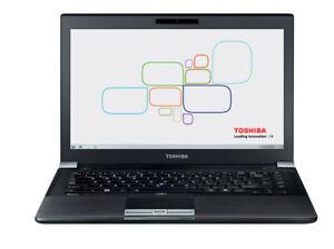 "BEST TOSHIBA TECRA R940 14"" INTEL CORE i5-3rd GEN 8GB RAM 500GB HDD WINDOWS 10"