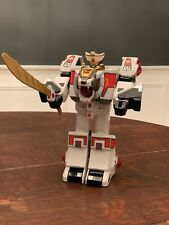 Mighty Morphin Power Rangers Tigerzord White Bandai 1994 Megazord MMPR Tested