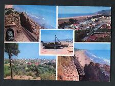 C1970s Multiviews Castelldefels: Beach, Train & Railway