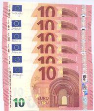"""10  EURO - DRAGHI NUOVA SERIE - S003C5  """"SB"""" FDS/UNC - SVENDO"""
