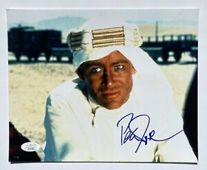PETER O'TOOLE Signed Autograph 10x8 LAWRENCE OF ARABIA Photograph JSA Authentica
