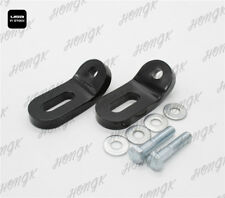 Black Touchless Tie-Downs for Harley Touring Road King Electra Glide