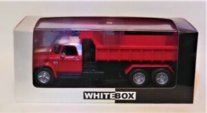 1/43 WhiteBox WB203  1974 Dodge D 950  Red / White Tipper Truck