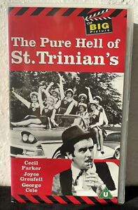 THE PURE HELL OF ST. TRINIANS - Sidney James - Warner VHS Video