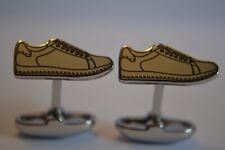 Paul Smith Mens Silver Tone Sneaker Cufflinks BNIB