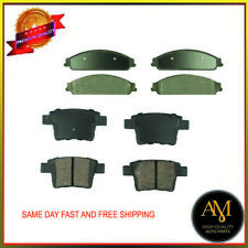 High Quality Brake Pads Full Set OF 8 Fits Ford & Mercury