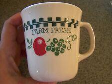 Corelle Farm Fresh cup, EUC