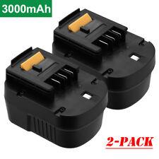2 Pack Battery for Black & Decker HPB12 FSB12 FS120B BD12PSK 12V 12VOLT 3000mAh