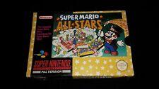 Super Mario All Stars - Super Nintendo Game - SNES - Boxed with Manual ALLSTARS