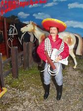 Lone Ranger -    EL LOBO   Mexikaner  -  Gabriel Toys - Big Jim Mexican