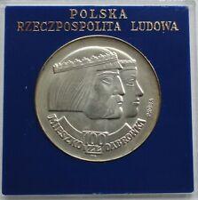 1966 Poland Polen 100 zl zlotych Silver 900 Mieszko Dabrowka PROBA RARE
