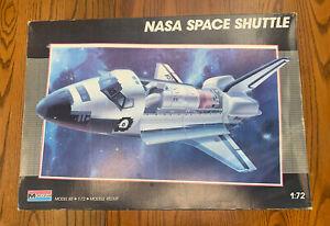 vintage 1987 Nasa Space Shuttle 1:72 Monogram Model Kit #5904