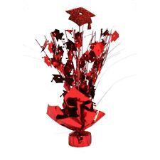 Red Graduation Foil Centerpiece