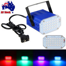 36 LED Disco Party DJ Club Strobe Laser Flash Light Sound Activated Stage Effect