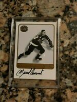 2001-02 Fleer Greats Of The Game Marcel Pronovost Auto - Red Wings