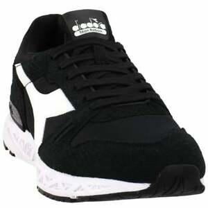 Diadora Titan Reborn Chromia Lace Up  Mens  Sneakers Shoes Casual   - Black -