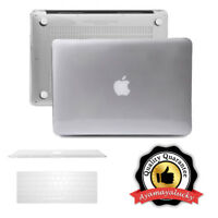 "Crystal Clear Plastic Case Keyboard Cover for MacBook Air Pro Retina 11 13"" 15"""