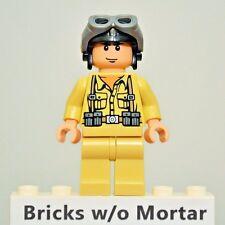 New Genuine LEGO German Soldier 1 Minifig Indiana Jones 7620