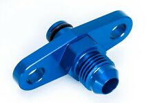 Fuel Rail Adapter Toyota, Subaru Blau 9/16 - 18UNF Dash 6 - AN6 JIC6