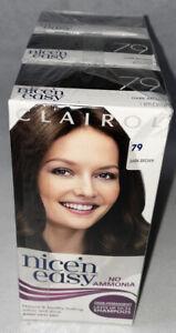Clairol Nice 'n Easy Semi-Permanent Hair Dye - No Ammonia - 79 - Dark Brown