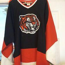 Whl Medicine Hat Tigers Hill Vintage Game Worn Hockey Jersey