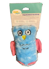 ZippyPaws - Squeakie Buddie Owl Plush Small Dog Toy