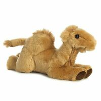 Aurora World Camel Mini Flopsies Plush Toy CaramelBrown